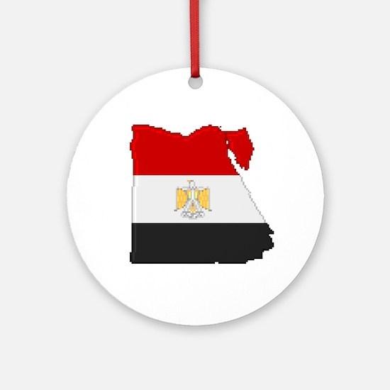 """Pixel Egypt"" Ornament (Round)"