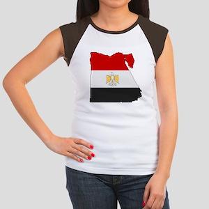 """Pixel Egypt"" Women's Cap Sleeve T-Shirt"