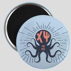 Chi Psi Octopus Magnet
