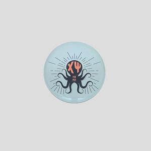 Chi Psi Octopus Mini Button