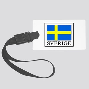 Sverige Large Luggage Tag