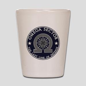 Omega Sector Shot Glass