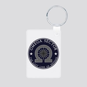 Omega Sector Aluminum Photo Keychain