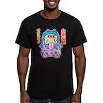 Goukakukigan2 Men's Fitted T-Shirt (dark)