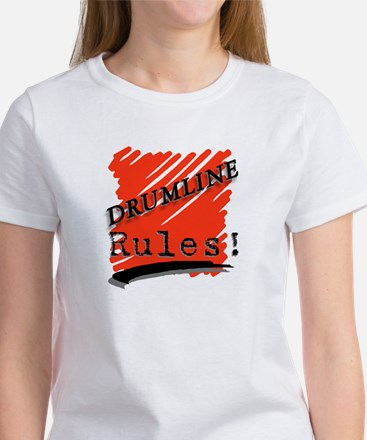 Drumline Rules Marching Band Women's T-Shirt