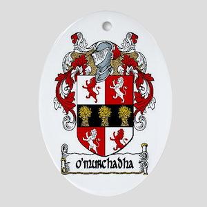O'Murchadha (Murphy) Oval Ornament