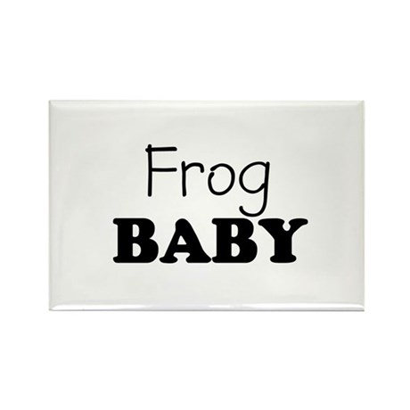 Frog baby Rectangle Magnet