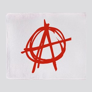 Anarchy Throw Blanket