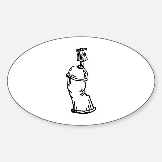 Graffiti Sticker (Oval)