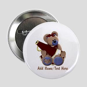 "Teddy Chearleader 2.25"" Button"