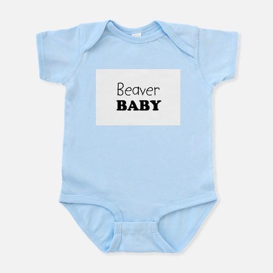 Beaver baby Infant Creeper