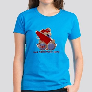Teddy Cheerleader (red) Women's Dark T-Shirt