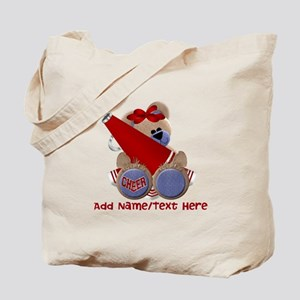 Teddy Cheerleader (red) Tote Bag