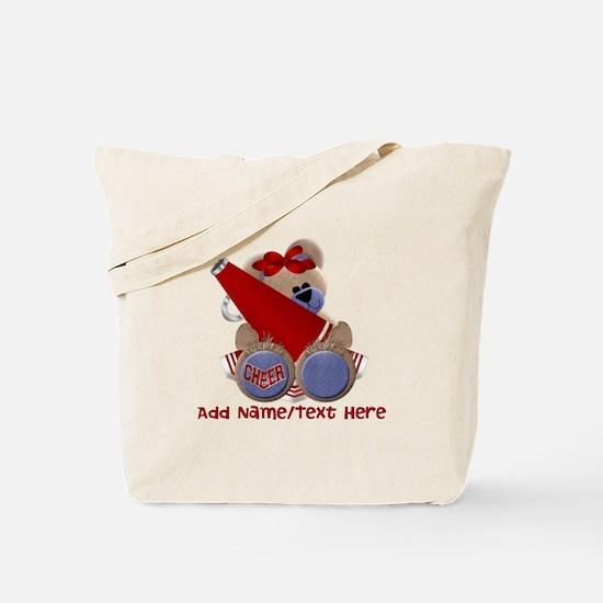 Teddy Cheerleader (red) Tote Bag
