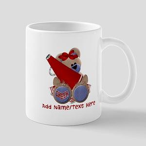 Teddy Cheerleader (red) Mug