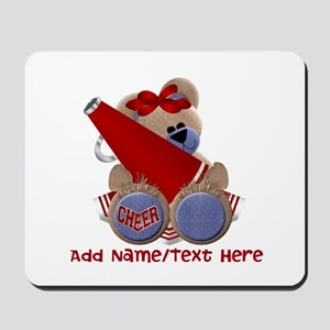 Teddy Cheerleader (red) Mousepad