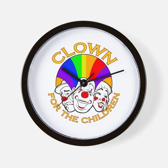 Shrine Clowns Wall Clock