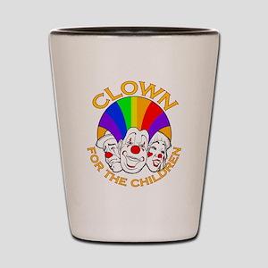 Shrine Clowns Shot Glass