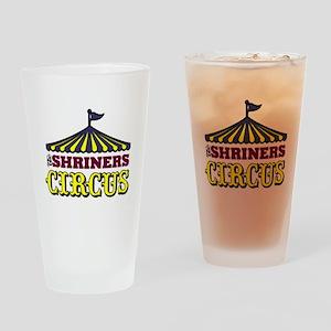 Shrine Circus Drinking Glass