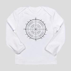 Math Geek Unit Circle Long Sleeve Infant T-Shirt