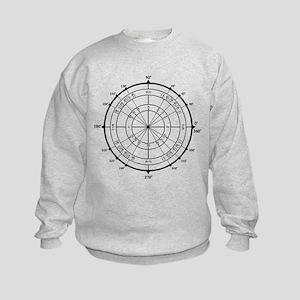Math Geek Unit Circle Kids Sweatshirt