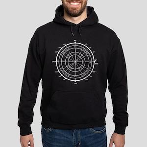 Math Geek Unit Circle Hoodie (dark)