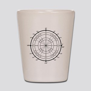 Math Geek Unit Circle Shot Glass