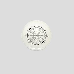 Math Geek Unit Circle Mini Button