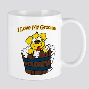 I Love My Groomer Mug