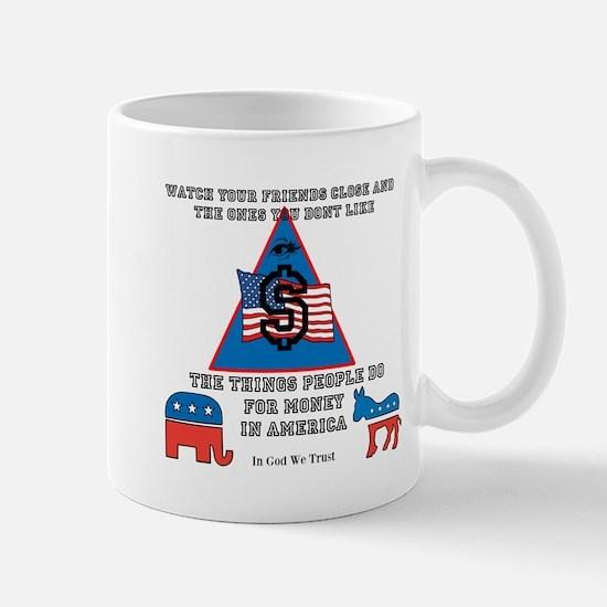 Watch Your Back Mug