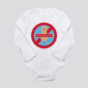 No Peanuts For Me! By Allergy-A-Wear™ Body Suit