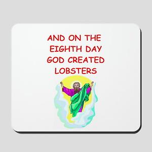 lobsters Mousepad