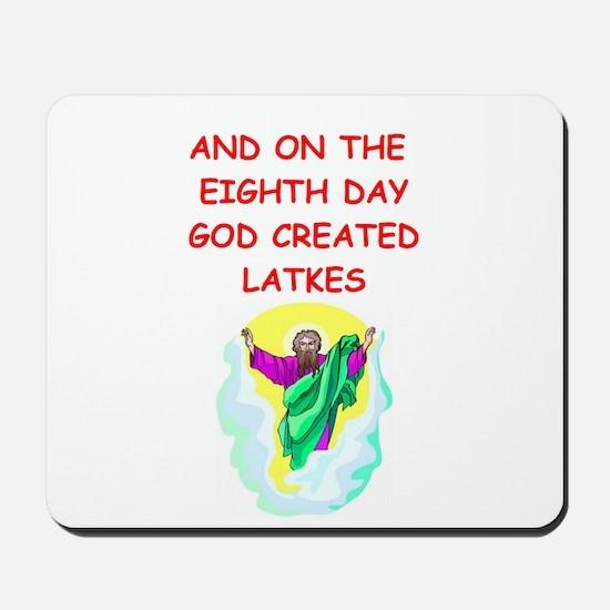 latkes Mousepad