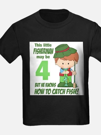 four year old fisherman T-Shirt