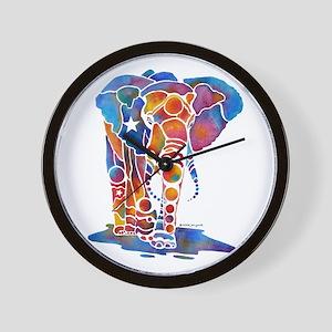Whimzical Emma Elephant Wall Clock