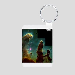 Pillars of Creation Aluminum Photo Keychain