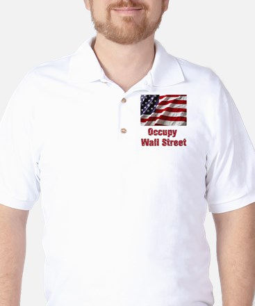 Occupy Wall Street Golf Shirt