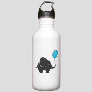 Elephant with balloon Stainless Water Bottle 1.0L