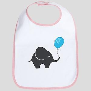 Elephant with balloon Bib