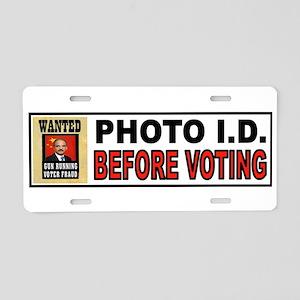VOTE OFTEN Aluminum License Plate