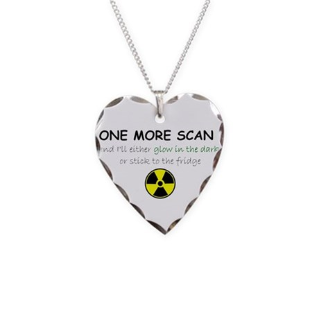 Radio 2 Necklace Heart Charm