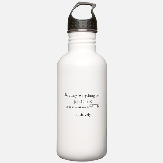 Keeping everything real v2 Water Bottle