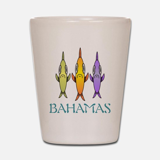 Funny Bahamas Shot Glass