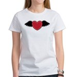 Winged Heart Couples Women's T-Shirt