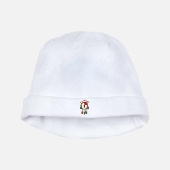 Cherokee Christmas Dream Catcher baby hat