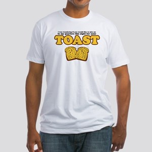 Nacho - Toast Fitted T-Shirt