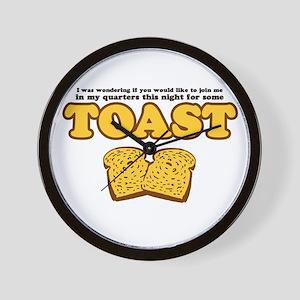 Nacho - Toast Wall Clock