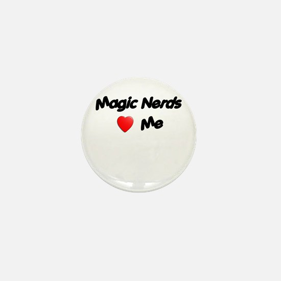 Magic Nerds (heart) Me Mini Button