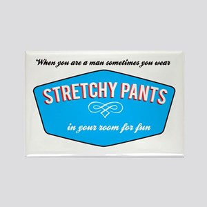 Stretchy Pants Rectangle Magnet