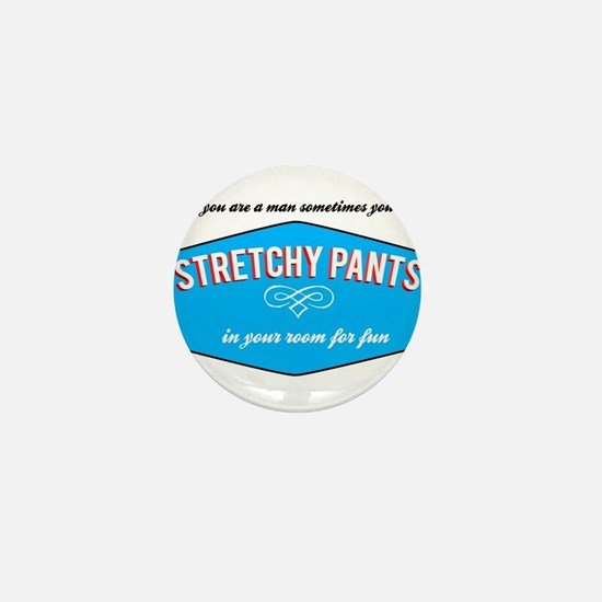 Stretchy Pants Mini Button
